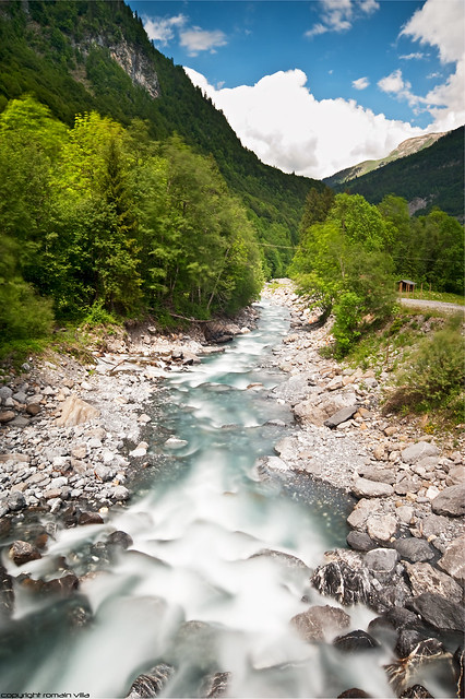 Torrent du Giffre - Sixt-Fer-A-Cheval - Haute-Savoie