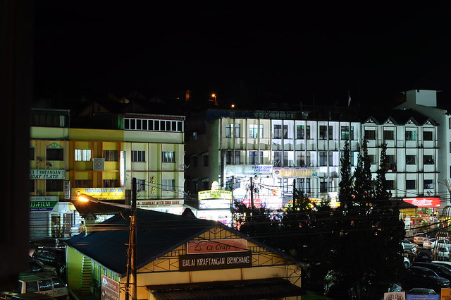 Brinchang at night