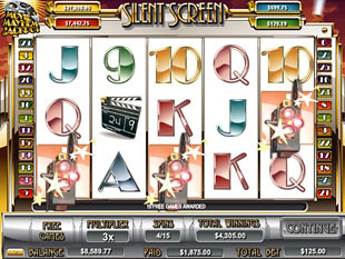 Silent Screen Free Spins