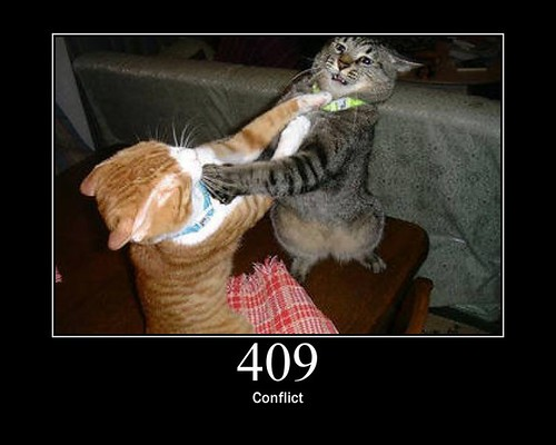 409 - Conflict (Credits: GirlieMac)