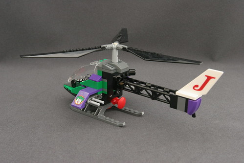 6863 Batwing Battle Over Gotham City - Joker's Helicopter 2