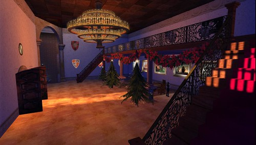 Preparing Wild Castle for the Christmas Ball