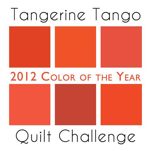 tangerine tango quilt challenge logo