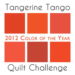 Tangerine Tango Quilt Challenge