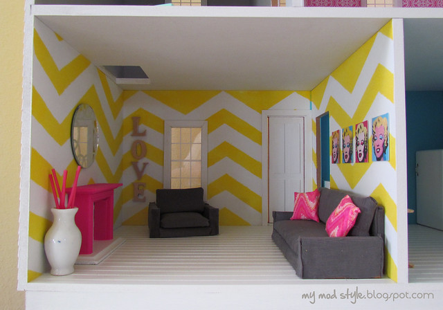 Dollhouse Living Room1