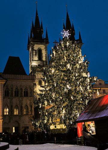 Prague Christmas tree by freelancer107