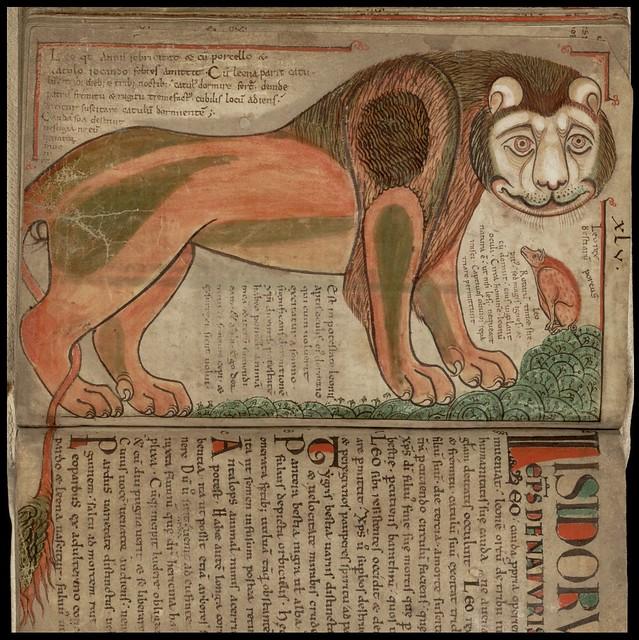 Liber Floridus - Lion