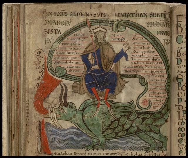 Liber Floridus - dragon
