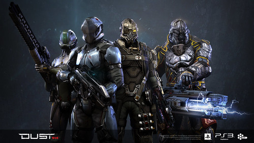 DUST 514: Dropsuits Group