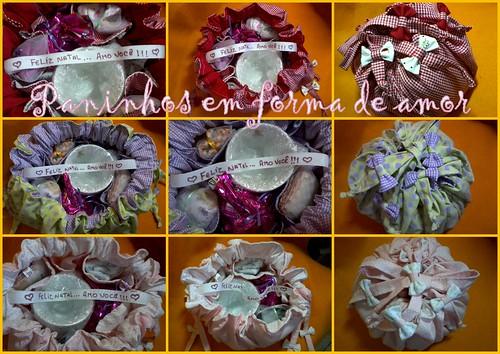 Kits para presentear no natal. by ♥Paninhos em forma de amor♥