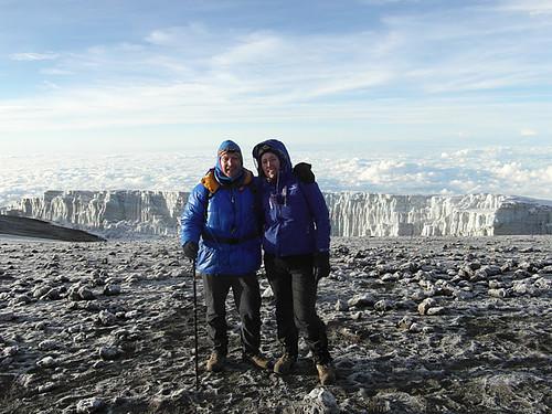 Stuart & Marie reach the Summit of Kilimanjaro