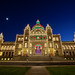 Victoria Parliament Buildings Christmas Lights