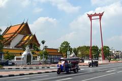 Bangkok - Wat Suthat & Giant Swing (1)