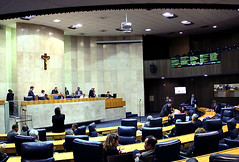 Plenário da Câmara de SP