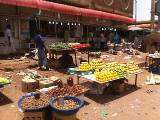 Veggie market in Khartoum, Sudan