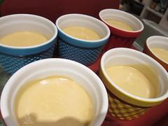 White Coffee Pots de Creme