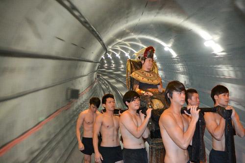 Inspecting SMRT tunnel