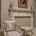 Armchair in the French style made in Philadelphia 1800-1810 CE