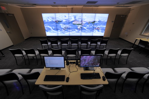 Photo:Data Exploration Theater 4 By:NASA Goddard Space Flight Center