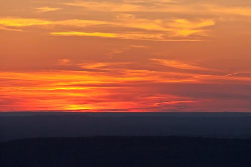 sunset sky mountains clouds lookoutmountain psunset