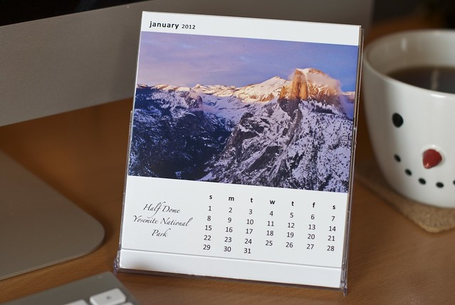 CD Calendar 2012