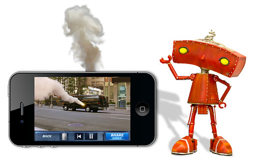 Bad Robot - Action Movie FX App