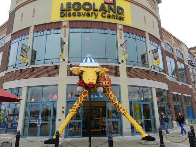 Legoland Discovery Center entrance