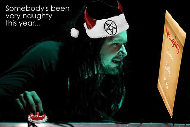 j devil bad santa