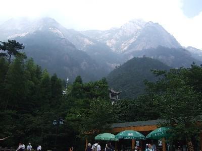 黄山 雲谷寺側
