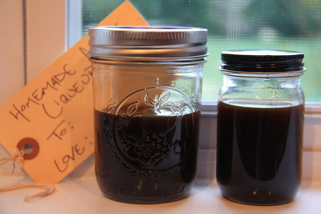 handmade holidays: coffee liqueur