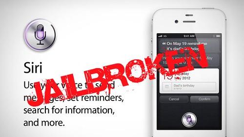 Siri jailbroken
