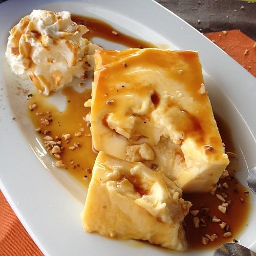 Leche asada con miel de palma #gomera #canaryislands #canarias #food #foodporn
