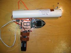 r0ket Laser Tag m0dul v0.8 Prototype 2