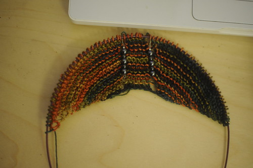 Starting a shawl