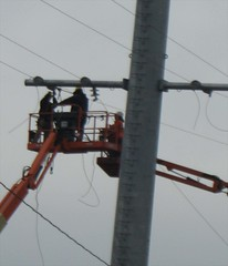 FHA02 - Installing Signal Wires at New Signal Tower 30 (12-27-2011)