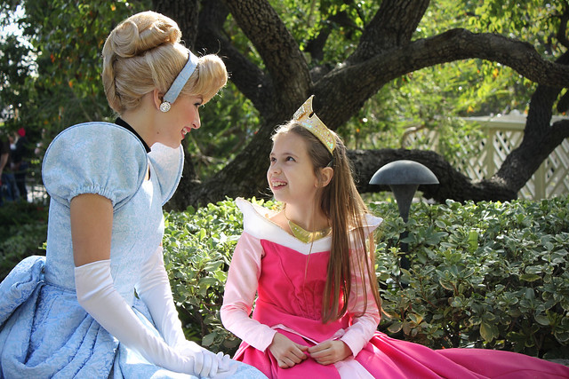 Cinderella and Little Aurora