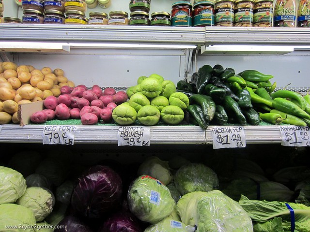 Market near Cannery Row, Monterrey