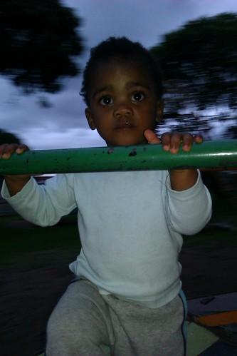Thanda In The Playground