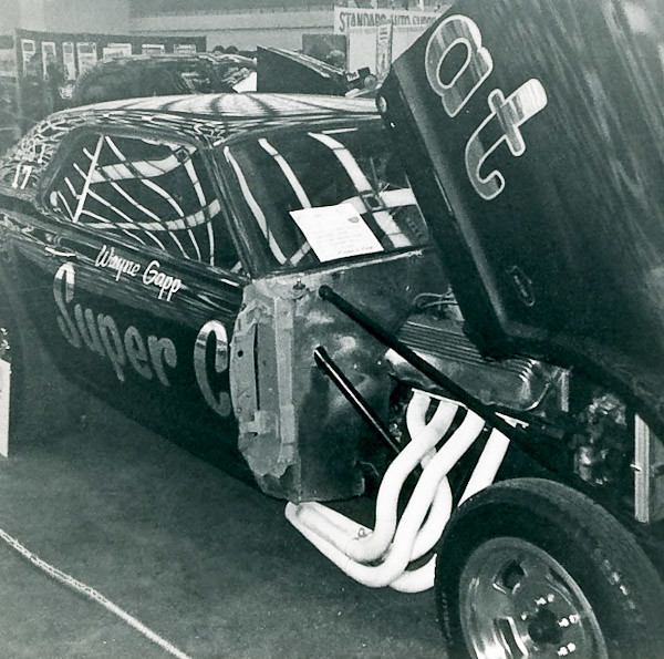 Super Cat of Wayne Gapp on display at 1968 Autorama in Detroit