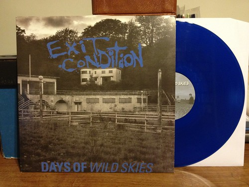 Exit Condition - Days of Wild Skies LP - Blue Vinyl /300 by Tim PopKid