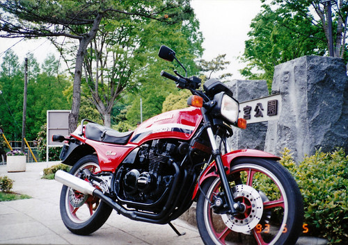 1982 KAWASAKI Z400GP