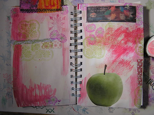 Backgrounds for art journal pages
