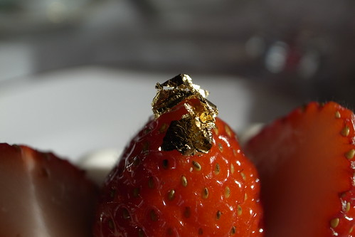 Gold Flake & Strawberry