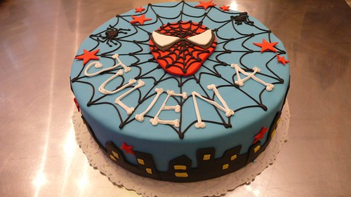 Spiderman Cake by CAKE Amsterdam - Cakes by ZOBOT