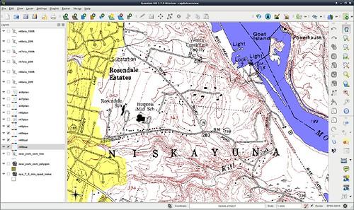 Screenshot of the New York State basemap