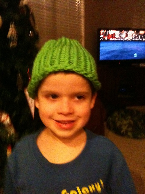 Completed Hat