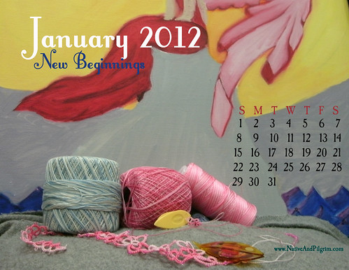 January 2012 Tatting Calendar