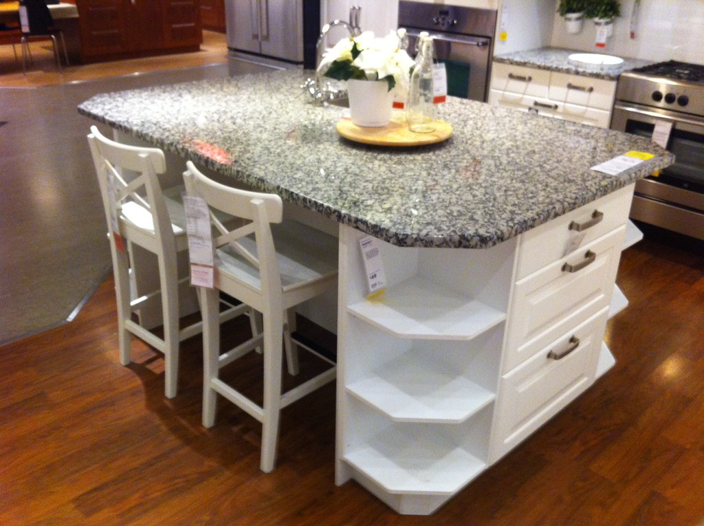 awesome 24 X 48 Kitchen Island #6: Added support for this island bar counter?