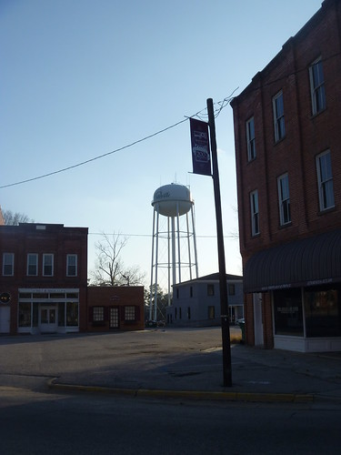 downtown watertower northcarolina courthouse whiteville columbuscounty