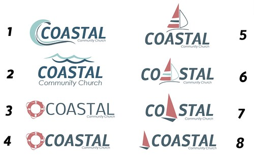 Coastal Community Logo Ideas